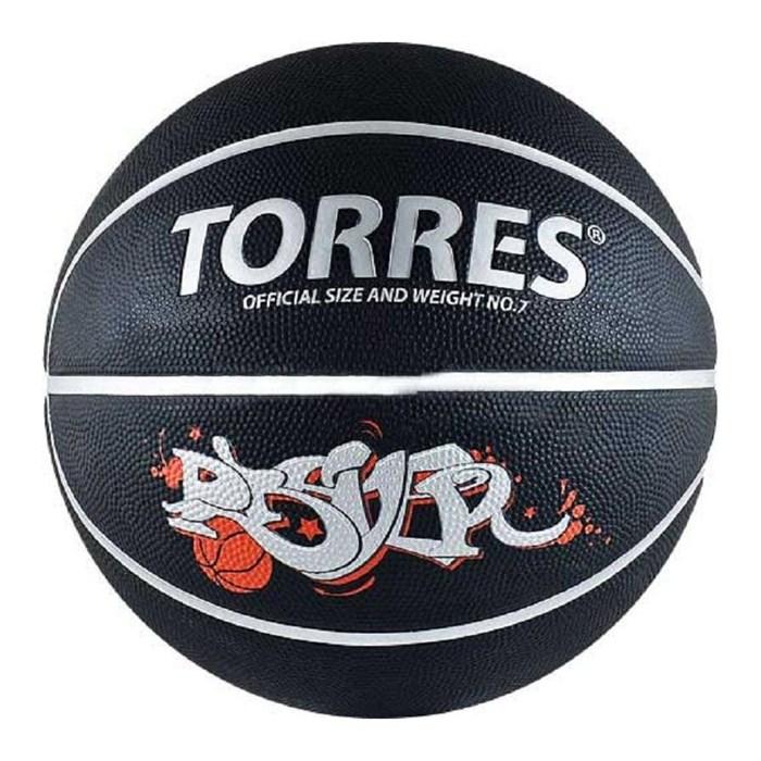 Мяч баскетбольный TORRES Prayer р.7 - фото 15827
