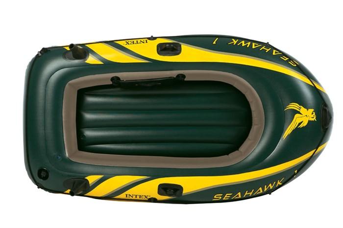 Надувная  лодка Intex 68345 одноместная Seahawk 100 - фото 16112
