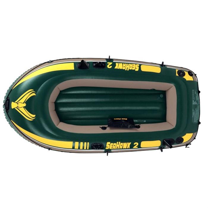 Надувная лодка Intex 68346 2-x местная Seahawk 200 - фото 16157