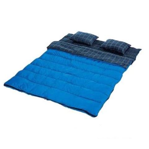 Двойной спальный мешок (одеяло+ 2 подушки) - фото 16713