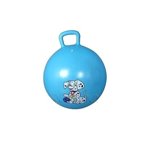 Мяч прыгун с ручкой d55 см GB04 - фото 17536