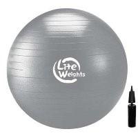 Мяч гимнастический Lite Weights d-85см (с насосом) 1868LW - фото 17538