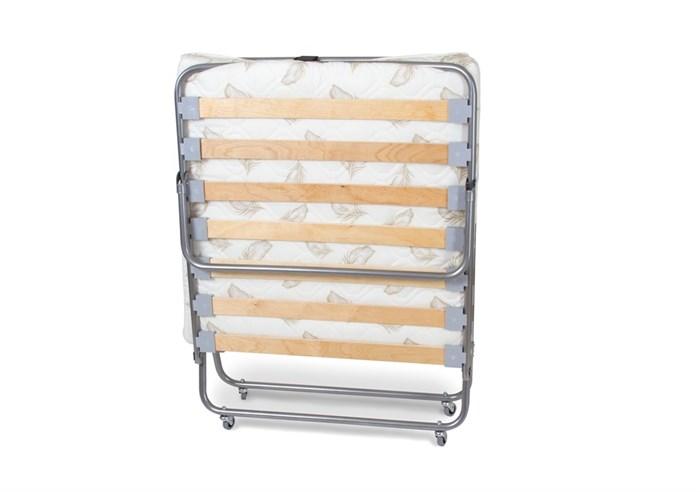 Раскладушка Релакс 2 с матрасом + ограничители матраса (кровать раскладная) 1900x800x400мм - фото 18450
