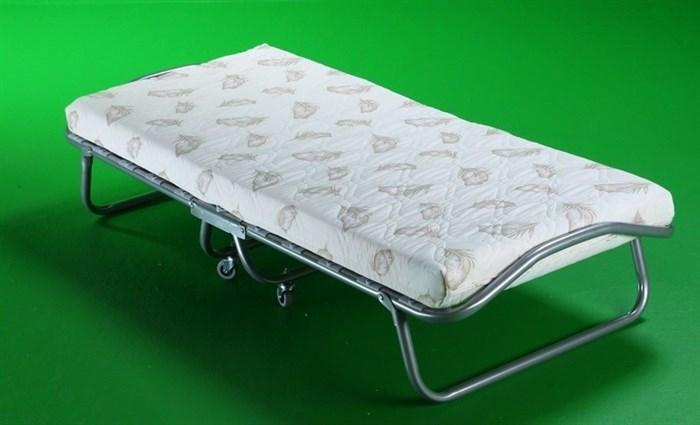 Детская раскладушка Релакс с матрасом + ограничители матраса (кровать раскладная) 1550x700x300мм - фото 18453