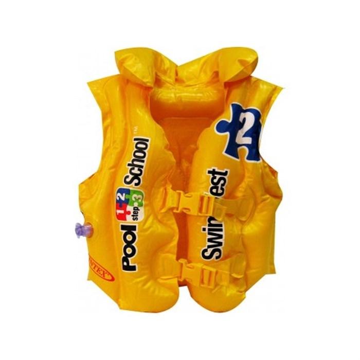 Жилет желтый (3-6 лет) Intex 58660 - фото 18792