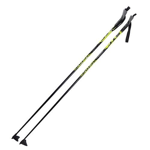 Палки лыжные 100% стекловолокно рост 140