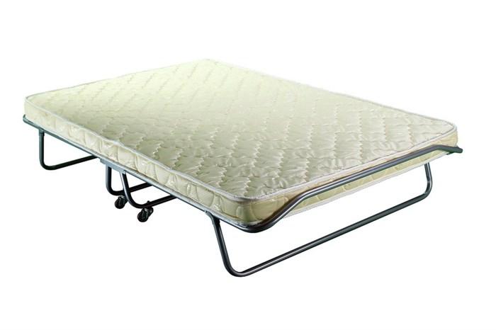 Двуспальная раскладушка Бенилюкс с матрасом + ограничители матраса, чехол (кровать раскладная) 2000x1300x400мм - фото 34156