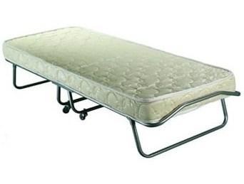 Раскладушка Особа с матрасом + ограничители матраса, чехол (кровать раскладная) 1980x800x400мм - фото 37417