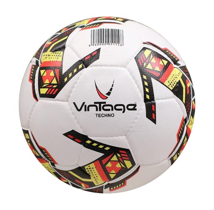 Мяч футбольный VINTAGE Techno V500, р.5 - фото 37589