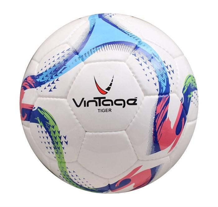 Мяч футбольный VINTAGE Tiger V200, р.5 - фото 37592