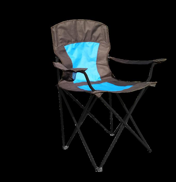Кресло кемпинговое складное с подстаканником RK-0103 - фото 37739