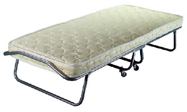Раскладушка Барвиха с матрасом + ограничители матраса, чехол (кровать раскладная) 1900x800x400мм - фото 38014