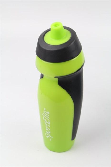 Бутылка спортивная В-410 600 мл, салатовый/черный - фото 38031