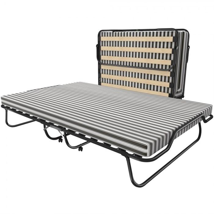 Двуспальная раскладушка Leset 216 с матрасом + ограничители матраса (кровать раскладная) 1900х1200х357мм - фото 38283