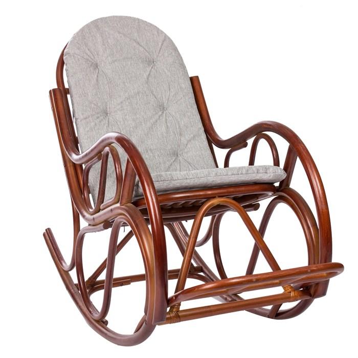 MI-001 Кресло-качалка CLASSIC, Коньяк - фото 48473