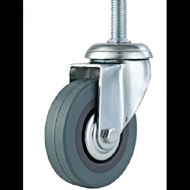 Комплект колёс металлических для раскладушек 4 шт. - фото 55070