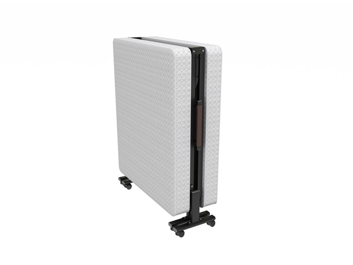 Двуспальная раскладушка MaxiBed 120 с матрасом (кровать раскладная) 2000х1200х400мм - фото 59672