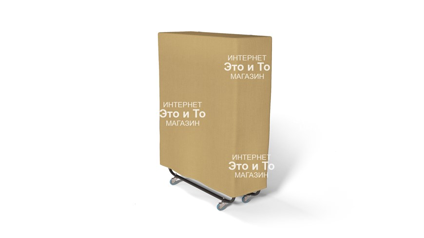 Чехол 90 см (бежевый) для раскладной кровати, раскладушки - фото 62012