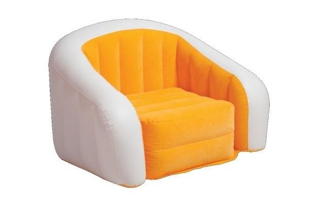 Кресло надувное Intex 68571 (Оранж) - фото 9443