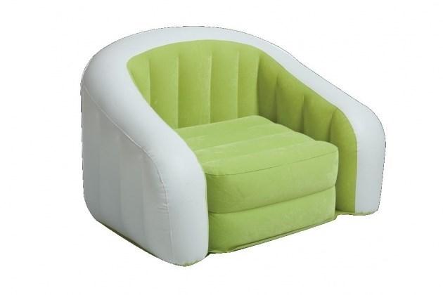 Кресло надувное Intex 68571 (Салат) - фото 9447