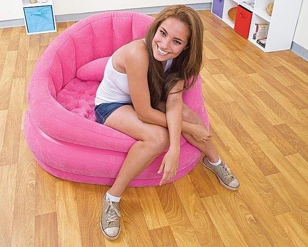 Кресло надувное Intex 68563 (роз) - фото 9449