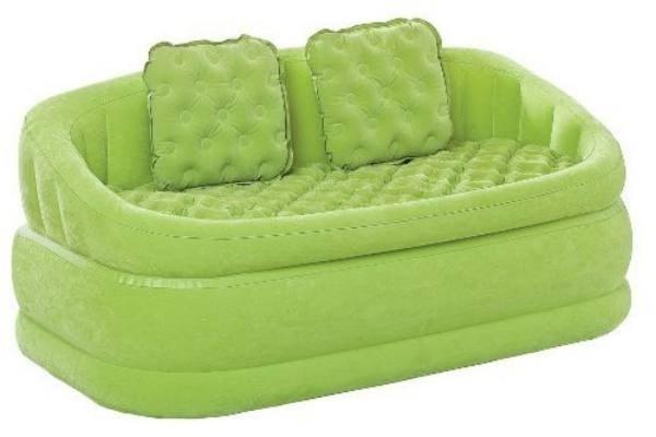 Диван надувной Intex 68573 (зелёный) - фото 9458