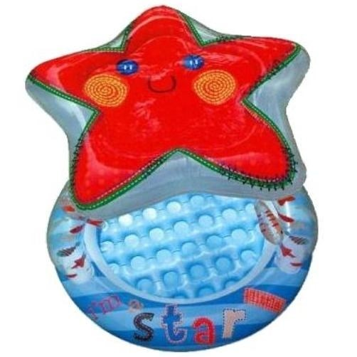 Бассейн детский Звезда с надувным полом и навесом Intex 57428 (102х86) - фото 9481