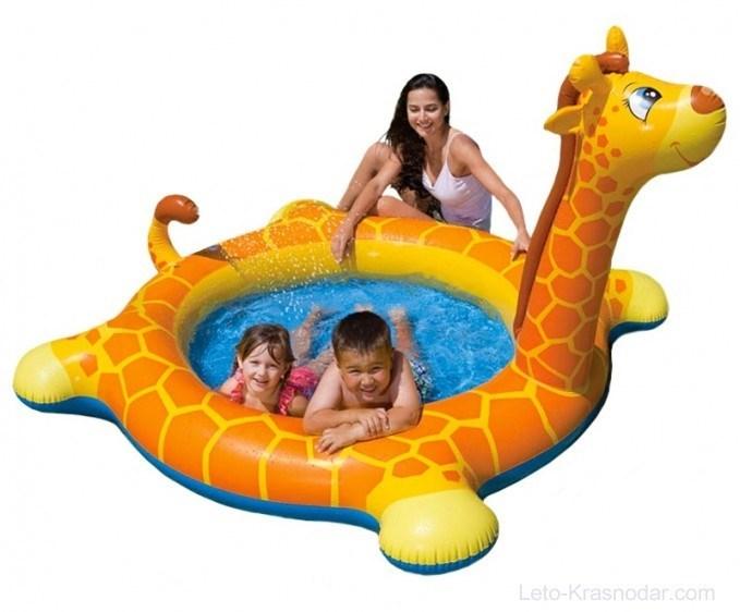 Бассейн детский Жираф Intex 57434 - фото 9498