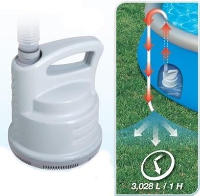 Дренажный насос для бассейна (3028 лч) Bestway 58230 - фото 9675