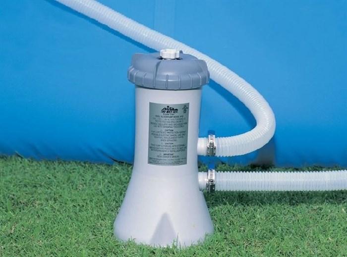 Фильтрующий насос помпа для бассейна (2006 л/ч) Intex 28604 - фото 9677