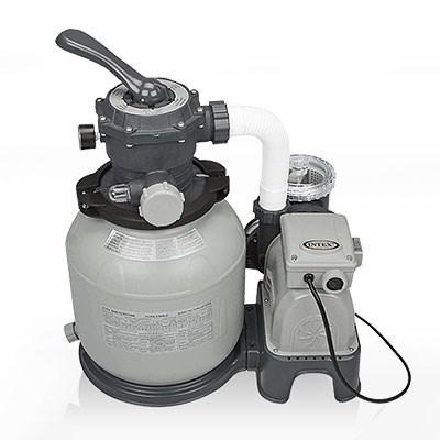 Песочный фильтр насос для бассейна (6000л/ч) Intex 28646 - фото 9689