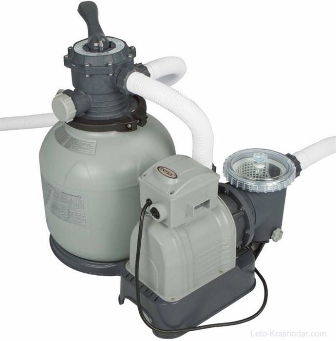 Песочный насос фильтр для бассейна (10000л/ч) Intex 28652 - фото 9695