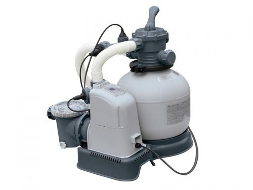 Песочный фильтр насос + хлорогенератор для бассейна (6000л/ч) Intex 28678 - фото 9705