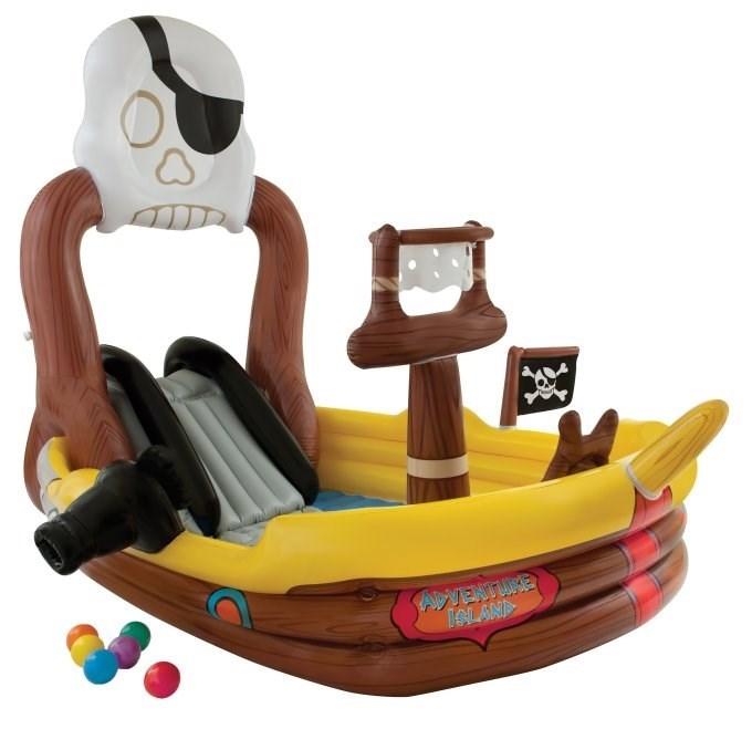 Игровой центр Пиратский корабль Intex 57133 - фото 9737