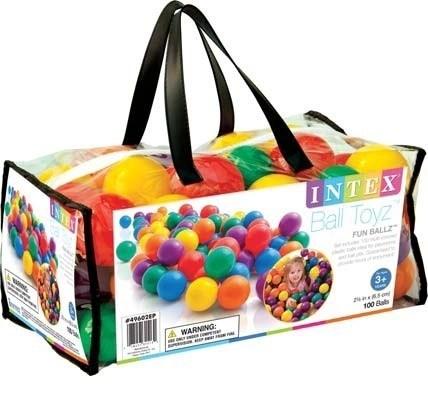 Набор шариков-мячиков для игровых центров (6см) Intex Fun Ballz 49602 - фото 9832