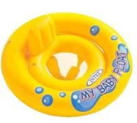 Круг желтый Мой маленький плот, с трусами (1-2 года) Intex 59574