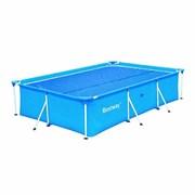 Тент солнечный прозрачный для прямоугольного бассейна 400х211см BestWay 58244