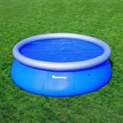 Тент солнечный прозрачный для круглого бассейна 366см BestWay 58062