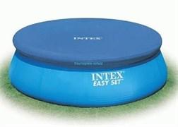 Тент для бассейна с верхним надувным кольцом 366см Intex 28022