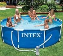 Каркасный бассейн Intex 56999/28202 + фильтр-насос (305х76см)