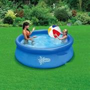 Надувной бассейн Summer Escapes P21-0830 с надувным верхним кольцом (244х76см)