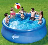 Надувной бассейн Summer Escapes P21-1236 с надувным верхним кольцом (365х91см)