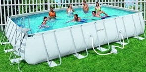 Каркасный бассейн Bestway 56272/56470 + фильтр-насос (671х366х132см)