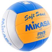Мяч в/б MIKASA VXS-02 Soft Sand пляжный р.5, синт. кожа