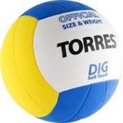 Мяч волейбольный любительский TORRES Dig