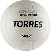 Мяч волейбольный любительский TORRES Simple