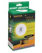 Мячи для настольного тенниса GIANT DRAGON 6 шт желтые