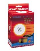 Мячи для настольного тенниса GIANT DRAGON-6 шт желтые