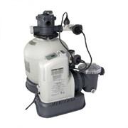 Песочный фильтр насос + хлорогенератор для бассейна (10000л/ч) Intex 28680