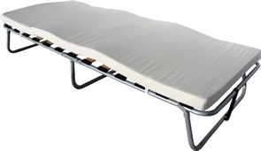 Раскладушка Анжелика с матрасом (кровать раскладная) 80х190х34см